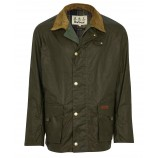 Barbour Alderton Wax Archive Olive