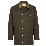 Barbour Pavier Wax Archive Olive