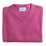 Hoggs of Fife Lauder Ladies Cable Pullover