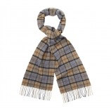 Barbour Tartan Lambswool Scarf Dress Tar