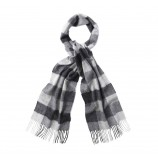 Barbour Large Tattersall Lambswool Scarf%2