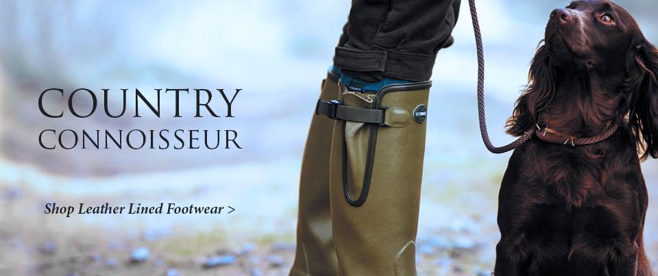 Leather Lined Footwear