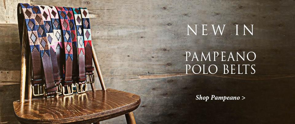 Pampeano Polo Belts