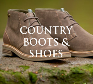 Country boots and shoes