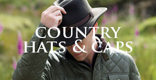 Country hats and caps
