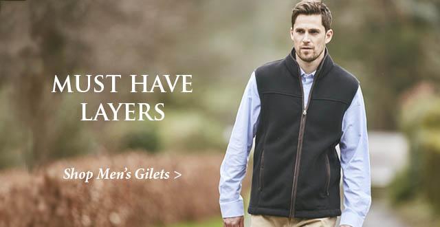 Men's Gilets