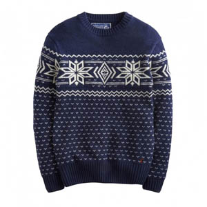 Joules Atholl Fairisle Snowflake Sweater