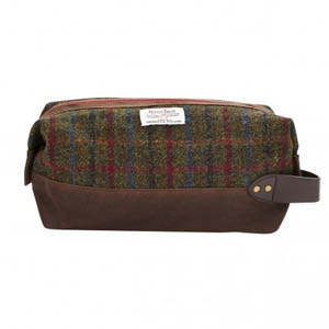 Joules Tweed Wash Bag