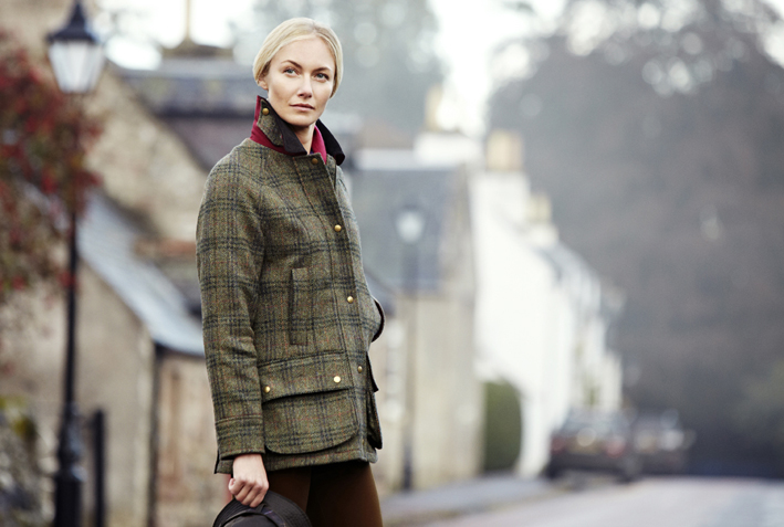 Barbour Edworth Tweed Beadnell