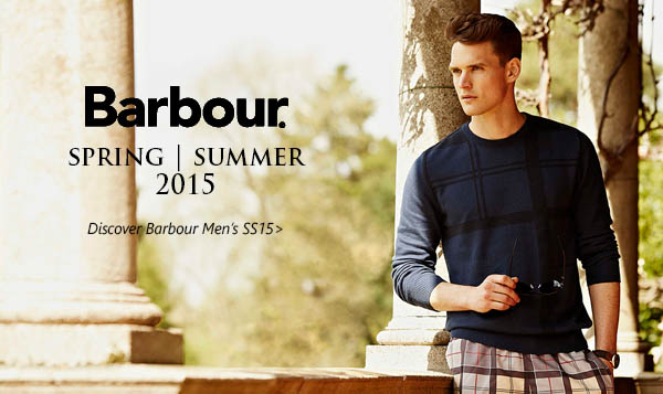 Barbour Men SS15