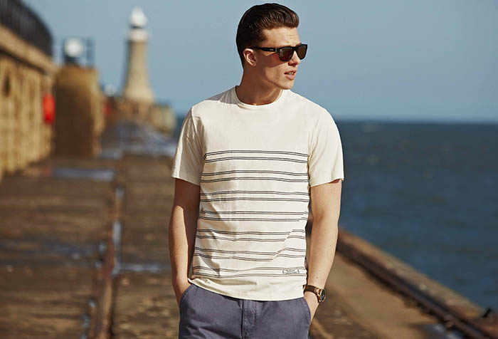 Barbour Witterman Striped Tee