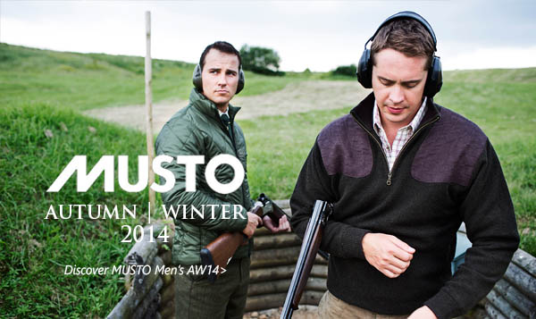 Musto Men AW14