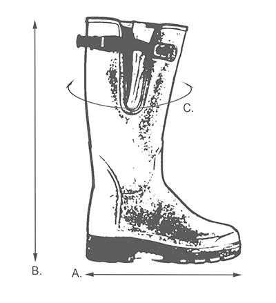 wellington-size-guide